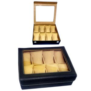 PU WATCH BOX FOR 8 WATCHES B