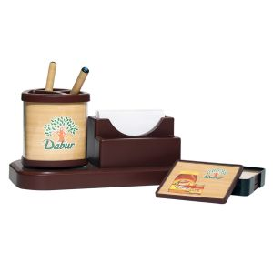 WOODEN BOMBASTTIC TABLE SET DABUR